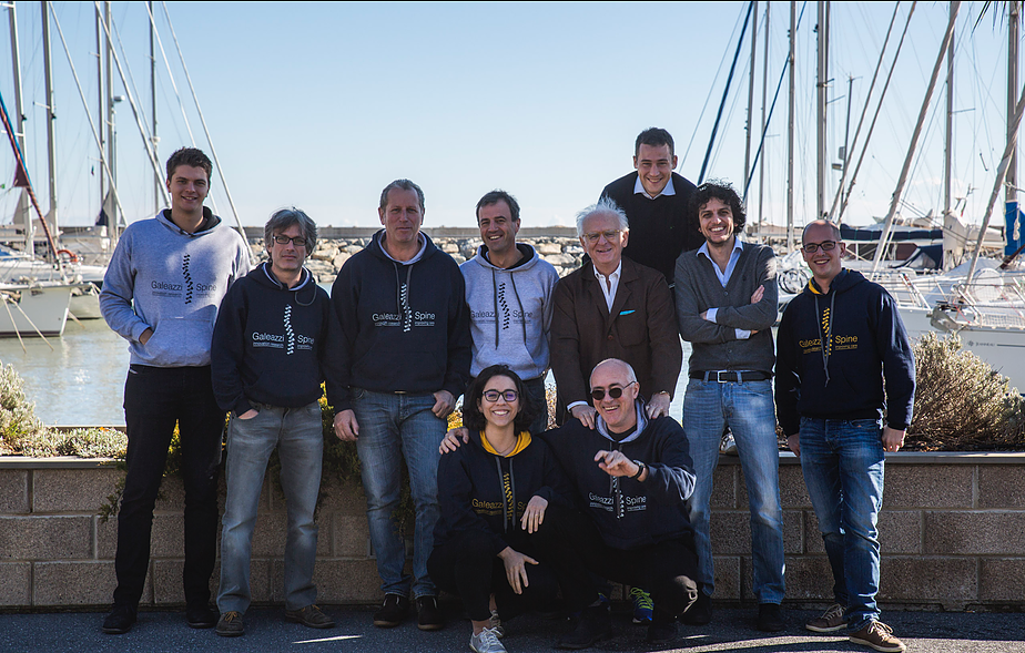Galeazzi Spine Meeting - San Lorenzo al Mare 2015. (M.G., Dr.-, Dr. Scopetta, Dr. Pedro Berjano, Dr. Carlo Formica, Dr. Marco Damilano, Dr. Matteo Pejrona, Dott. Florian Pirola, Dr.ssa Maryem Ismael, Dr. -)